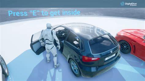 digital dive driveable cars basic pack 3d assets blueprints by