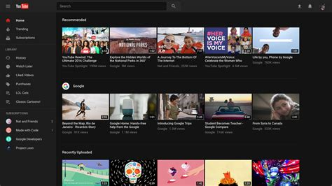 fidio yautube youtube now formally lets you opt in for material design
