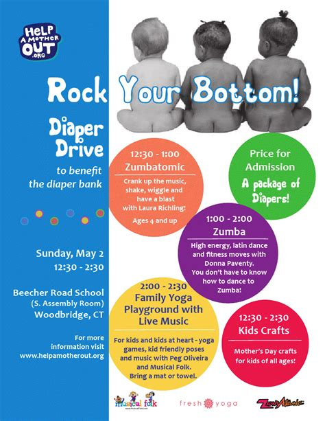long drive diapers national month long diaper drive with help a mother out