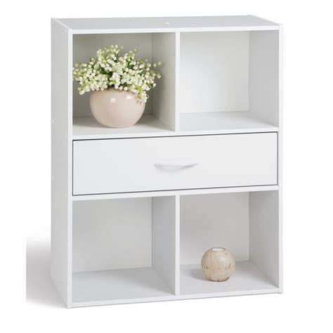 Etagere 8 Cases Blanches by Etagere Murale 4 Cases My