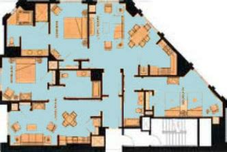 marriott grand chateau 3 bedroom villa floor plan marriott grand chateau vacation rentals vacation times org