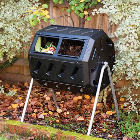 rotating composter compost barrel for the home home