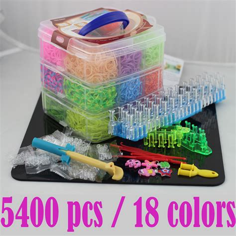 diy rubber st kit 2017 high quality hotest 3 tier storage box rubber bands