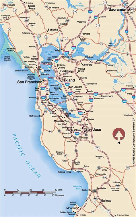 california map east bay east bay san francisco map