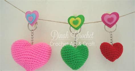tutorial html com dinah crochet crochet heart free pattern