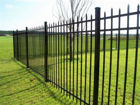 ta aluminum fence installation aluminum fences