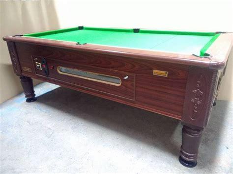 ex pub pool tables 7x4 ex pub slate bed pool table superleague imperial