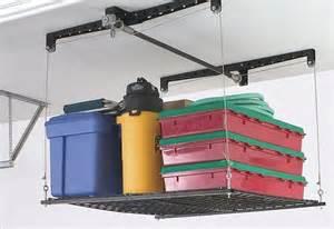 chicago adjustable overhead garage storage