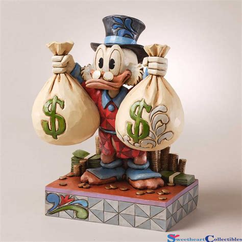 jim shore disney jim shore disney scrooge mcduck money bags 4027137