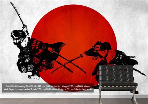 japanese wallpaper for walls uk japanese warriors ethnic wallpaper printed wall paper