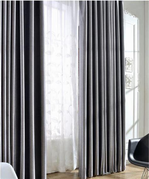 custom sized curtains silk solid shinny blinds fabric curtain for livingroom
