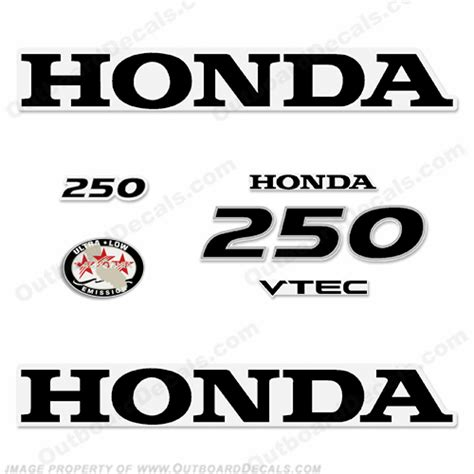 Honda Marine Aufkleber by Honda Outboard Decals