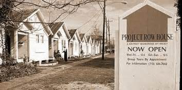 Rick Lowe Project Row Houses - blighted structures get new life as artists studios nea