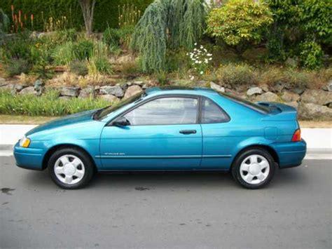 1993 Toyota Paseo 1993 Toyota Paseo