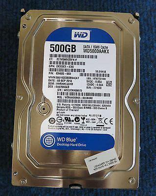 Wdc Sata Iii Blue 500gb 16mb 35 Inch wd blue wd500aakx 500gb 16mb 7200 rpm 6gb s 3 5 drive