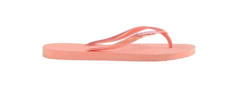 Br Sandal Ribbon Pink havaianas pink flip flops havaianas slim logo metallic