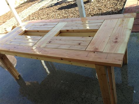 Patio Table Ideas Inspiring Wood Patio Table Diy Patio Design 395