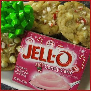 Best christmas cookies ever candy cane using pudding and a cake mix
