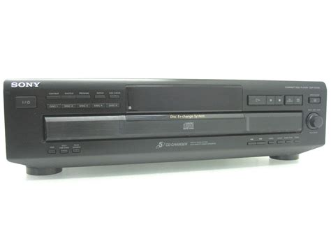 Multi Player Audio sony cdp ce335 compact disc multi player changer 5 cd tray