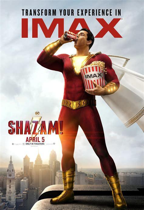 shazam  poster  trailer addict