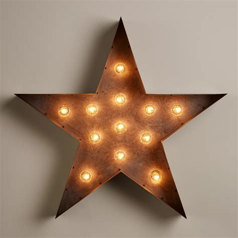 Star Marquee Light World Market Marquee Lights