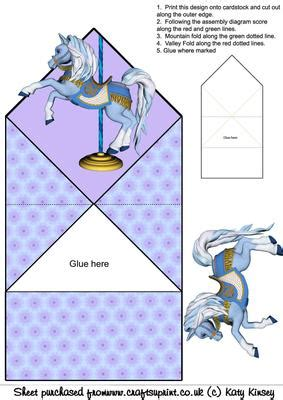 printable animal pop up cards carousel horse pop up spring card cup66024 572