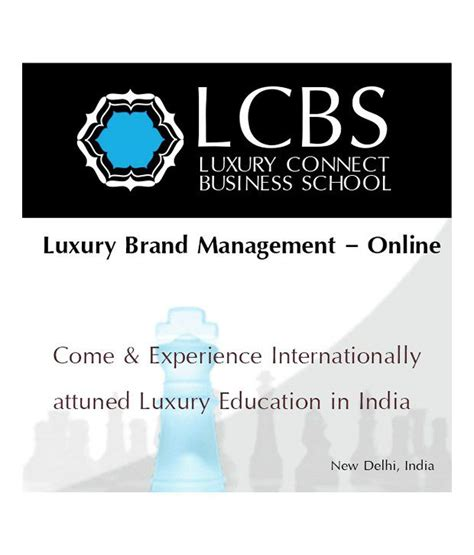 Luxury Brand Management Mba Essec by Luxury Brand Management Lbm Ol Cerfication