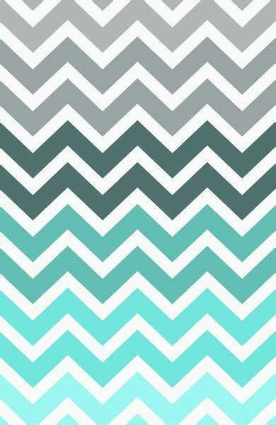 Lines Baby Bluemint By Amima grey to blue ombre chevron image 1966622 by marky on favim