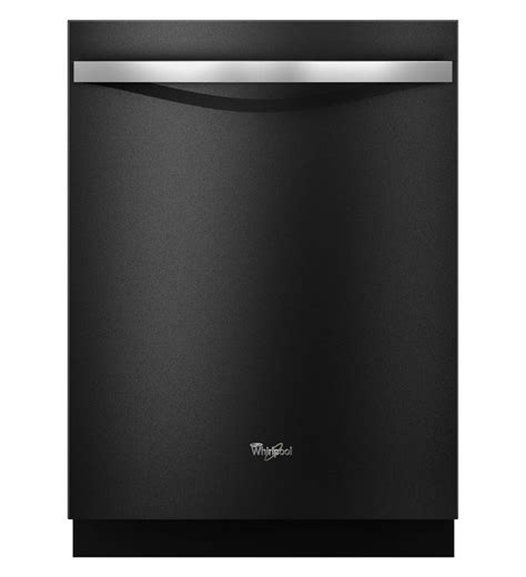whirlpool black ice whirlpool gold series dishwasher with powerscour option in