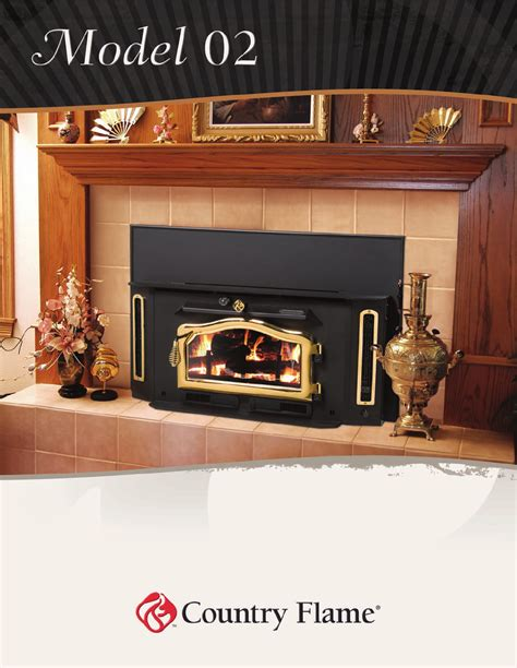 Country Comfort Fireplace Insert by Country Indoor Fireplace O2 User Guide