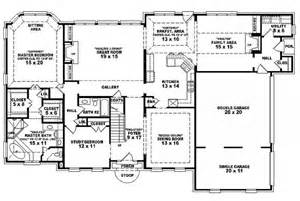 six bedroom floor plans 6 bedroom single family house plans house plan details