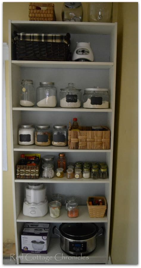 how to a pantry out of a bookcase the best of 2015 cottage chronicles