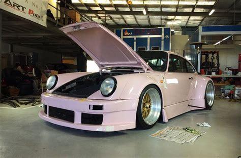 pink porsche 911 rauh welt makes special pink porsche 911 for australian