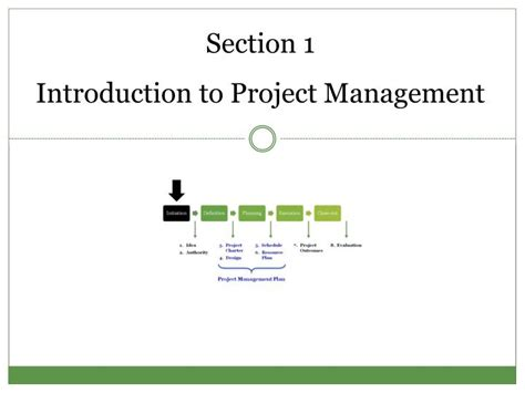 section management ppt project management for public health professionals