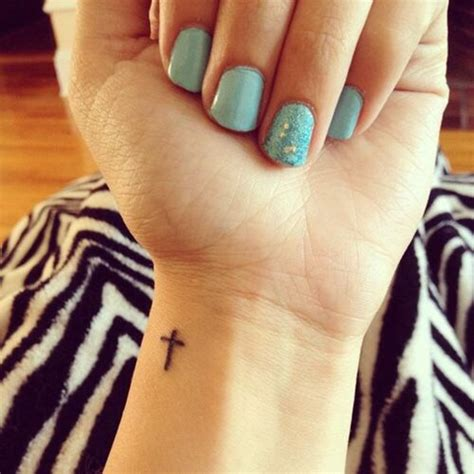 cute little cross tattoos 80 ways to express your faith with a religious