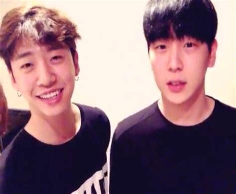 bap banghim yongguk x himchan secret handsome guys yongguk and himchan banghim