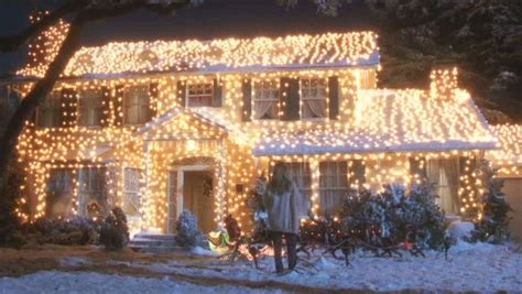 clark griswold christmas vacation house with lights