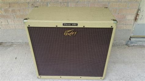 Peavey Classic 115e Cabinet by Usa Peavey Classic Tweed 115e 1x15 Extension Cabinet 16
