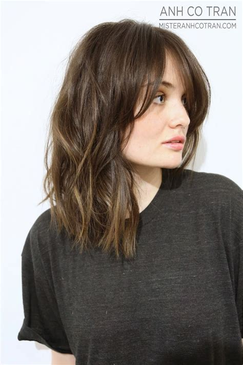 bangs hairstyles with bangs gallery page 35 17 best ideas about long bob bangs on pinterest long bob