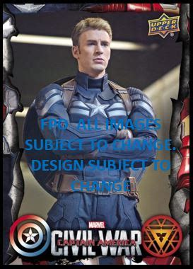 civil war trading card template captain america civil war trading card checklist