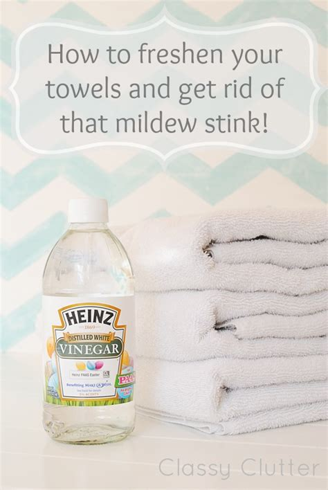 how to get rid of musty smell in furniture how to freshen your towels and get rid of that mildew