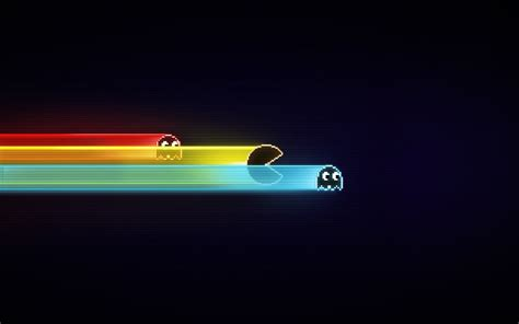 game wallpaper simple nice and simple colourful pacman desktop wallpaper