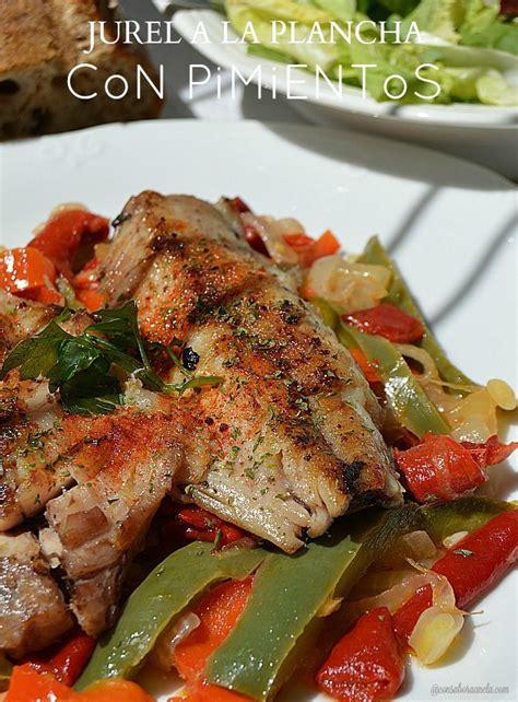 cocinar para diabeticos con sabor a canela jurel a la plancha con pimientos con