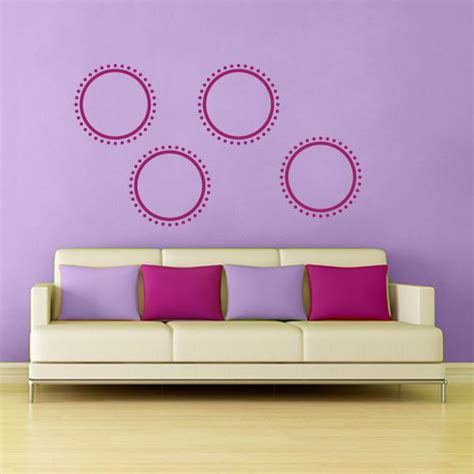 circle wall stickers dotted circle wall decal wall decal world
