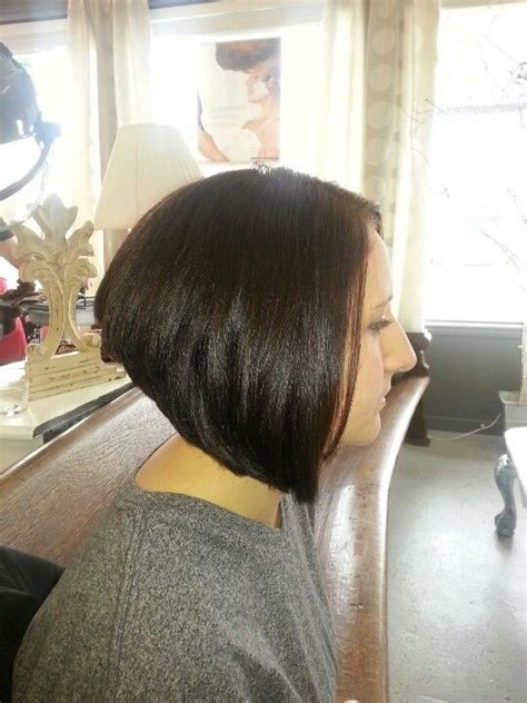 swing hair cut swing stacked bob hair