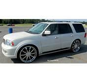 Lincoln Navigator On 28s  Big Rims Custom Wheels