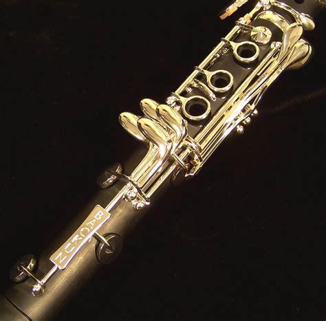 Silver Kets backun alpha clarinet with silver kesslermusic
