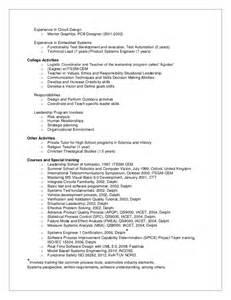 Embedded Hardware Engineer Sle Resume by Electrical Engineer Resume Exle System Engineer Resume System Engineer Resume Exle Click