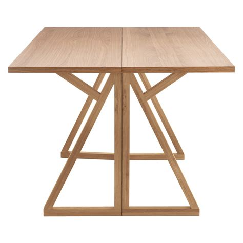 Heath Heath Oak Folding Table And 4 Hester Charcoal Dining