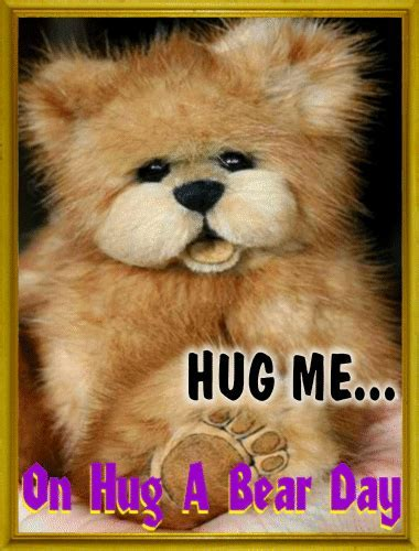 Hug Me Ecard. Free Hug a Bear Day eCards, Greeting Cards